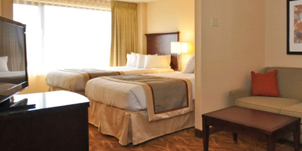 Mini Suite 2 Doubles in Kahler Inn & Suites, Rochester